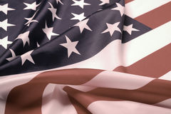 Retro styled picture of U.S. flag Stock Images