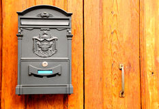 Retro styled postbox. Stock Images