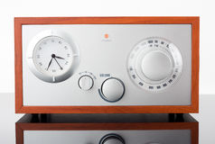 Retro-styled radio tuner Royalty Free Stock Photography