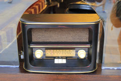 Retro styled radio Stock Image