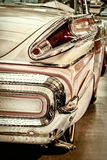 Retro styled rear of a classic American car Stock Photography