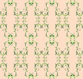 Retro-styled seamless pattern Royalty Free Stock Image