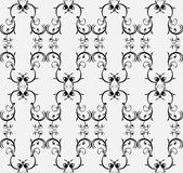 Retro-styled seamless pattern Stock Photography
