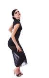 Retro styled seductive girl Royalty Free Stock Photography