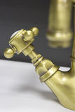 Retro-styled water tap Royalty Free Stock Image