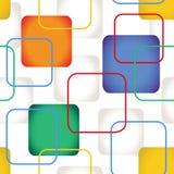 Retro styles seamless pattern Stock Photo