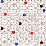 Retro stylized seamless pattern Royalty Free Stock Photo