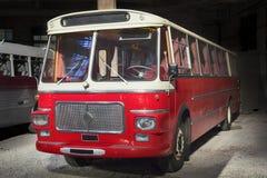 Retro stylowy autobus stonowany Fotografia Stock