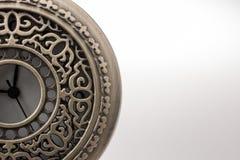 Retro stylowy klasyczny kieszeniowy zegarek zdjęcie royalty free