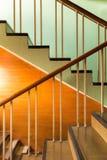 Retro stylowy schody Zdjęcie Stock
