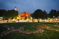 Retro stylowy wizerunek St Sophia miseum w Istanbu (Hagia Sophia) Zdjęcia Royalty Free