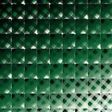 Retro stylu kwadrat i lampasa wektorowy ciemnozielony tło Obraz Stock