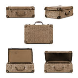 Retro Suitcase Collection Royalty Free Stock Photos