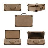 Retro Suitcase Collection royalty free stock photos