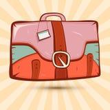 Retro Suitcase Illustration Stock Photo