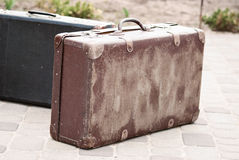Retro suitcase Royalty Free Stock Images