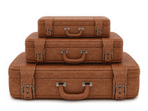 Retro suitcases Stock Photos