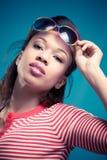 Retro summer look royalty free stock photography