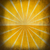 Retro sun grunge background. Retro yellow sun grunge background with textures Stock Images