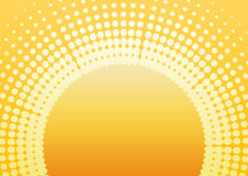 Retro sun plain Royalty Free Stock Photos