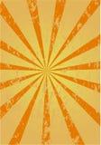 Retro sunburst background Stock Image