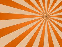 Retro sunburst design Stock Images