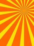 Retro sunburst design Royalty Free Stock Photography