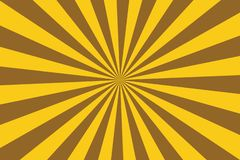 Retro Sunburst ray in vintage style. Abstract comic book background.