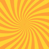Retro sunburst ray in vintage style. Spiral effect. Abstract comic book background. Vector vector illustration