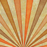 Retro sunburst Stock Image