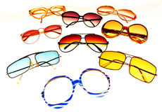 Retro sunglasses Royalty Free Stock Image