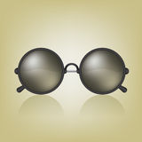Retro sunglasses illustration Stock Photos