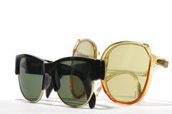Retro sunglasses two Royalty Free Stock Image
