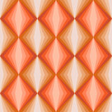 Retro suqare pattern. Vector illustration of a seamless retro suqare pattern in 1970s colors Royalty Free Stock Images