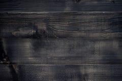 Retro svart wood yttersida som bakgrund royaltyfri fotografi