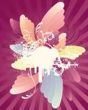 Retro Swirl Stock Image