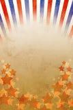 Retro tła czerwieni, białych i błękitnych lampasy, Zdjęcie Stock