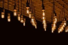 retro tło lampa zdjęcie stock