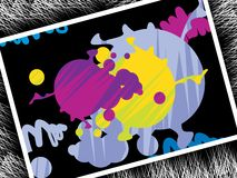 retro tła grunge ilustracja wektor
