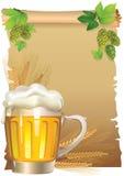 retro tła piwo Obraz Stock
