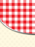 Retro tablecloth texture background Royalty Free Stock Photo