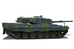 Retro Tank Royalty Free Stock Photo