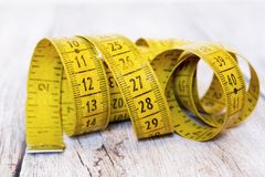Retro tape measure Royalty Free Stock Images