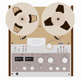 Retro tape recorder Royalty Free Stock Photography