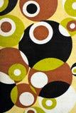 Retro tapestry fabric pattern. Closeup of retro tapestry fabric pattern royalty free stock photo