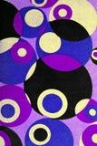 Retro tapestry fabric pattern. Closeup of retro tapestry fabric pattern stock photography