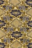 Retro tapestry fabric pattern Stock Image