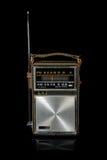 retro tappning för bärbar radio Royaltyfri Fotografi
