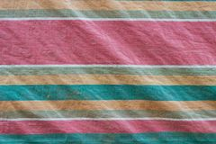 Retro tarpaulins fabric texture. Retro color of tarpaulins surface, tarpaulins texture material is from plastic, with line retro color pattern Royalty Free Stock Photo