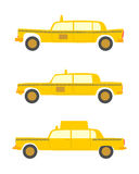 Retro taxi. Stock Photo